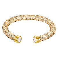 Swarovski® Golden Crystaldust Cuff Bracelet