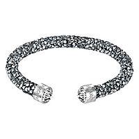 Swarovski® Gray Crystaldust Cuff Bracelet