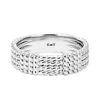 Rony Tennenbaum® Wedding Band in 14K White Gold, 5.5MM