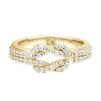 Rony Tennenbaum® 1/2 ct. tw. Diamond Engagement Ring in 14K Yellow Gold