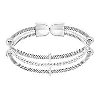 Swarovski® Gate Bangle Bracelet