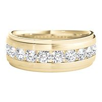 Men's 1 ct. tw. Diamond Ring in 10K Yellow Gold, 5MM