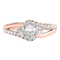 5/8 ct. tw. Diamond Engagement Ring in 14K Rose Gold