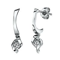 Sirena® 1/3 ct. tw. Diamond Earrings in 14K White Gold