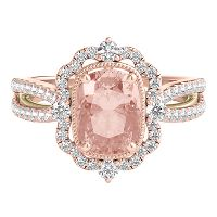 Enement Rings Pink | Pink Engagement Rings Engagement Rings Helzberg Diamonds
