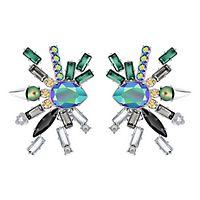 Swarovski® Helen Clip Earrings