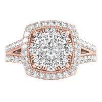 Pink Diamond Rose Gold Enement Rings | Rose Gold Engagement Rings Engagement Rings Helzberg Diamonds