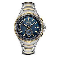 Seiko® Coutura Two-Tone Men's Watch