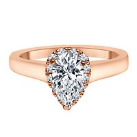 3/4 ct. tw. Diamond Engagement Ring in 14K Rose Gold