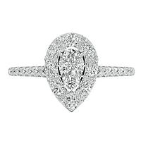 1 1/4 ct. tw. Diamond Engagement Ring in 14K White Gold