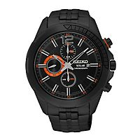 Seiko® Recraft Solar Chronograph Men's Watch
