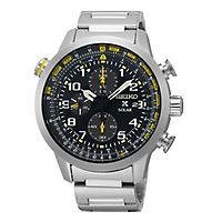 Seiko® Prospex Solar Chronograph Men's Watch