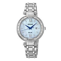 Seiko® Tressia Diamond Solar Ladies' Watch