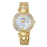 Seiko® Solar Diamond Ladies' Watch