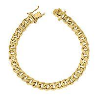 Men's Bracelet in 14K Yellow Gold