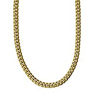 Men's Miami Cuban Link Chain in 14K Yellow Gold, 24
