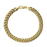 Men's Miami Cuban Link Bracelet in 14K Yellow Gold