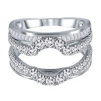 2 ct. tw. Diamond Ring Enhancer in 14K White Gold