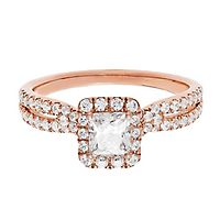 1 ct. tw. Diamond Engagement Ring in 14K Rose Gold