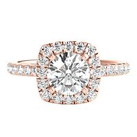 1 ct. tw. ALTR™ Created Diamond Engagement Ring in 14K Rose Gold