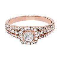 3/4 ct. tw. Diamond Engagement Ring in 14K Rose Gold