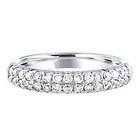 5/8 ct. tw. Diamond Band in 14K White Gold