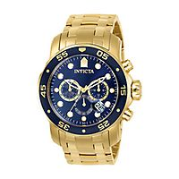 Invicta Pro Diver Blue Chronograph Men's Watch