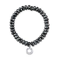 Gray Hematite Bracelet in Sterling Silver