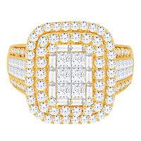 2 1/2 ct. tw. Diamond Ring in 14K Yellow Gold