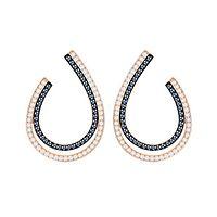 Swarovski® Lemon Hoop Earrings