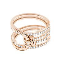 Swarovski® Lifelong Wide Ring, Size 7