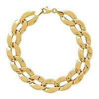 Curb Link Bracelet in 14K Yellow Gold
