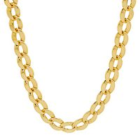 Oval Link Chain in 14K Yellow Gold, 17
