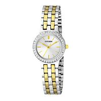 Citizen® Crystal Two-Tone Ladies' Watch