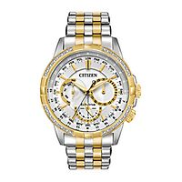 Citizen® Eco-Drive™ Calendrier Chronograph Diamond Men's Watch