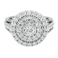 1 1/2 ct. tw. Diamond Engagement Ring in 10K White Gold