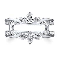 1/3 ct. tw. Diamond Ring Enhancer in 10K White Gold