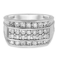 Men's 1 1/2 ct. tw. Diamond Ring in 10K White Gold