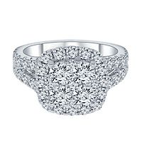2 ct. tw. ALTR™ Created Diamond Engagement Ring in 14K White Gold