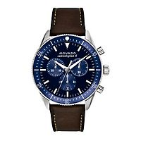 Movado® Heritage Blue Chronograph Men's Watch
