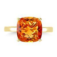 EFFY® Citrine Ring in 14K Yellow Gold