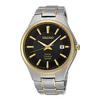Seiko® Two-Tone Men's Watch
