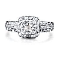 1/4 ct. tw. Diamond Ring in 10K White Gold