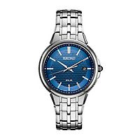 Seiko® Essentials Blue Solar Men's Watch