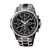 Seiko® Essentials Solar Chronograph Men's Watch
