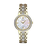 Seiko® Essentials Solar Crystal Ladies' Watch