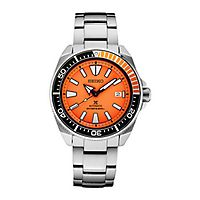 Seiko® Orange Prospex Automatic Diver Men's Watch