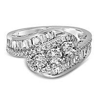 1 1/4 ct. tw. Diamond Ring in 10K White Gold