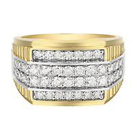 Men's 1 1/2 ct. tw. Diamond Ring in 10K Yellow Gold