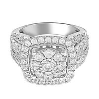 2 1/2 ct. tw. Diamond Engagement Ring in 14K White Gold